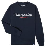 Vêtements Garçon Sweats Teddy Smith S-MICKE Marine