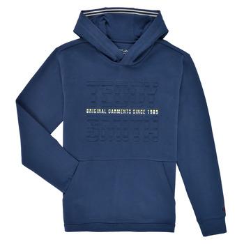 Vêtements Garçon Sweats Teddy Smith S-RUN HOODY Marine