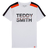 Vêtements Garçon T-shirts manches courtes Teddy Smith T-MACK Blanc