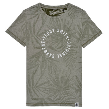 Vêtements Garçon T-shirts manches courtes Teddy Smith T-OTYS Kaki
