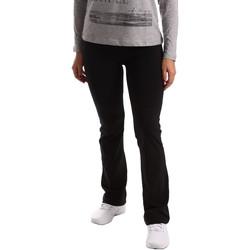Vêtements Femme Pantalons de survêtement Key Up 5LI20 0001 Noir