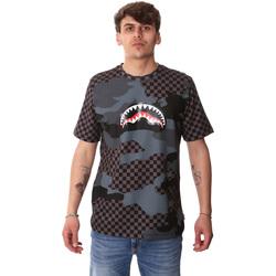 Vêtements Homme T-shirts manches courtes Sprayground SP01820BLA Noir