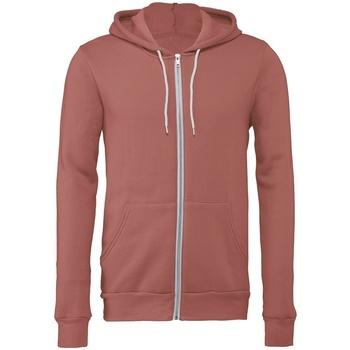 Vêtements Sweats Bella + Canvas CV3739 Mauve