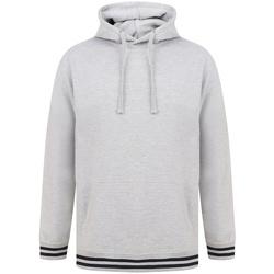 Vêtements Sweats Front Row FR841 Gris chiné / bleu marine