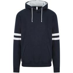 Vêtements Sweats Awdis JH103 Bleu marine / gris chiné