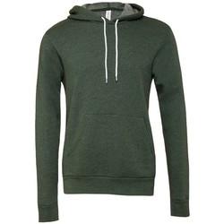 Vêtements Sweats Bella + Canvas CV3719 Vert foncé mélangé