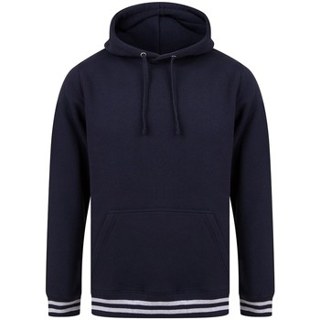 Vêtements Sweats Front Row FR841 Bleu marine / gris chiné