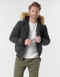 Vêtements Homme Blousons Schott WASHINGTON2 Noir