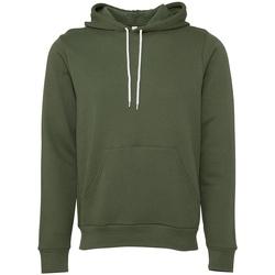 Vêtements Sweats Bella + Canvas CV3719 Vert militaire