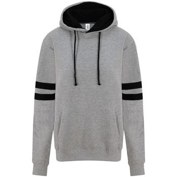 Vêtements Sweats Awdis JH103 Gris clair/ Noir