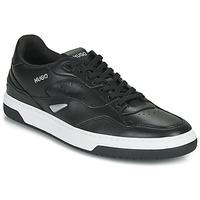 Chaussures Homme Baskets basses HUGO SWITON TENN FL Noir