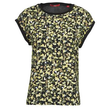 Vêtements Femme Tops / Blouses S.Oliver 14-1Q1-32-7164-99B0 Noir / Multicolore