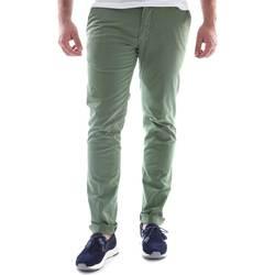 Vêtements Homme Chinos / Carrots Sei3sei 6OYSTER E1648 Vert