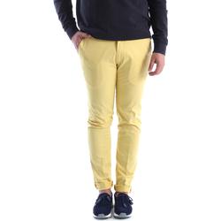 Vêtements Homme Chinos / Carrots Sei3sei 6OYSTER E1648 Jaune