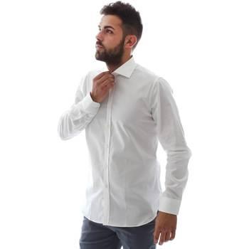 Vêtements Homme Chemises manches longues Gmf EQ2 1428 951106/01 Blanc