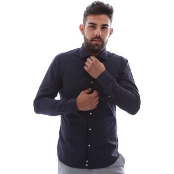Vêtements Homme Chemises manches longues Gmf EQ2 1079 952151/02 Bleu
