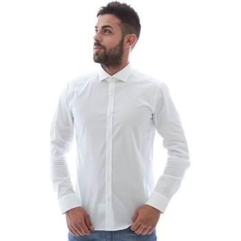 Vêtements Homme Chemises manches longues Gmf GMF5 4864 8 Blanc