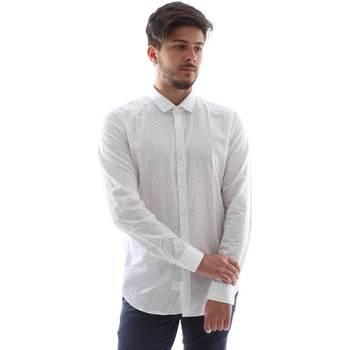 Vêtements Homme Chemises manches longues Gmf FS15 961138/1 Blanc