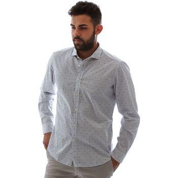 Vêtements Homme Chemises manches longues Gmf 961232/4 Blanc