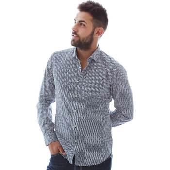 Vêtements Homme Chemises manches longues Gmf 961151/3 Bleu