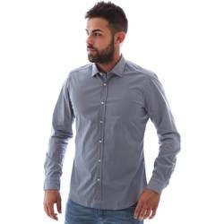Vêtements Homme Chemises manches longues Gmf 961146/2 Bleu