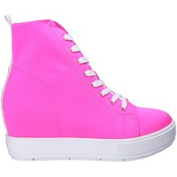 Chaussures Femme Baskets montantes Fornarina PE17MJ9543L065 Rose