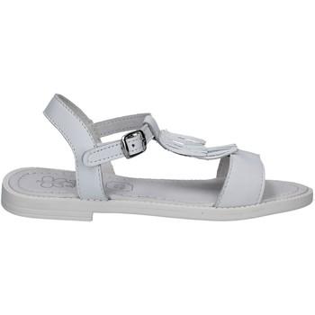 Chaussures Enfant Sandales et Nu-pieds Lulu LT080061L Blanc