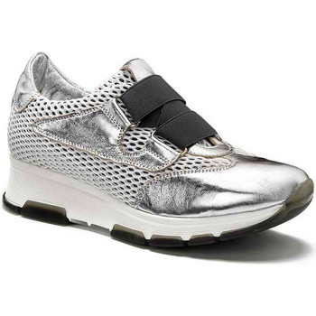 Chaussures Femme Baskets basses Keys 5183 Argent