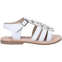 Chaussures Fille Sandales et Nu-pieds Asso 65954 Blanc