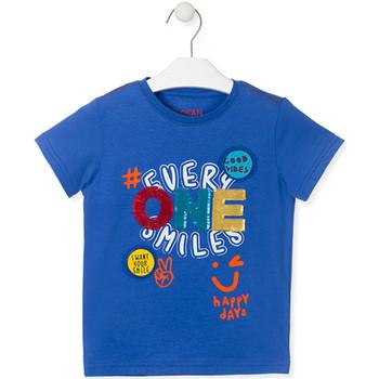 Vêtements Enfant T-shirts manches courtes Losan 015-1032AL Bleu