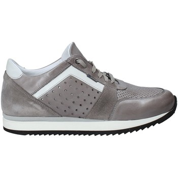 Chaussures Homme Baskets basses Exton 558 Gris