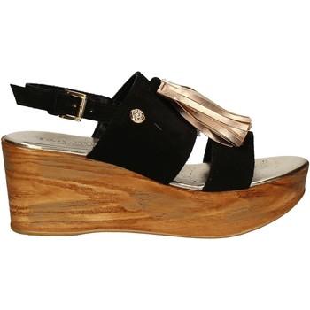 Chaussures Femme Sandales et Nu-pieds Byblos Blu 672213 Noir