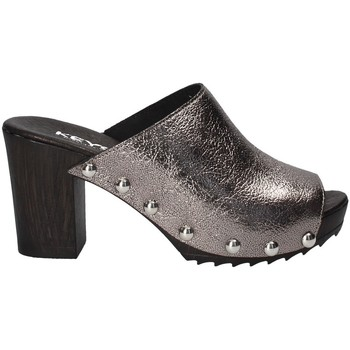 Chaussures Femme Mules Keys 5868 Gris