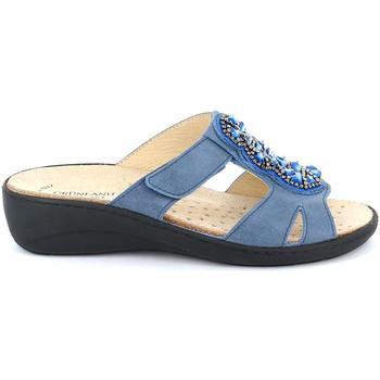 Chaussures Femme Mules Grunland CE0710 Bleu