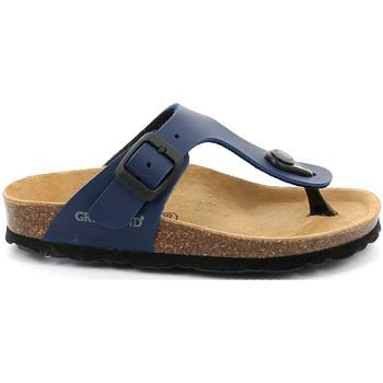 Chaussures Enfant Tongs Grunland CB0926 Bleu
