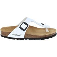 Chaussures Enfant Tongs Grunland CB0926 Blanc
