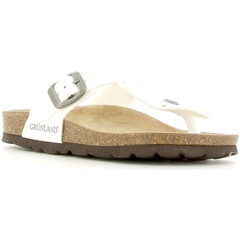 Chaussures Enfant Tongs Grunland CB0928 Blanc