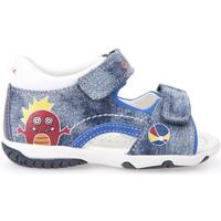 Chaussures Enfant Sandales et Nu-pieds Geox B62L8B 013BC Bleu