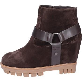 Chaussures Femme Bottines Hogan BK694 Marron