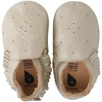 Chaussures Fille Chaussons Bobux Chaussons cuir or