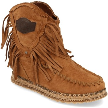 Chaussures Femme Bottines Ainy JH20-78 Camel