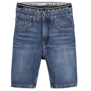 Vêtements Garçon Shorts / Bermudas Calvin Klein Jeans AUTHENTIC LIGHT WEIGHT Bleu