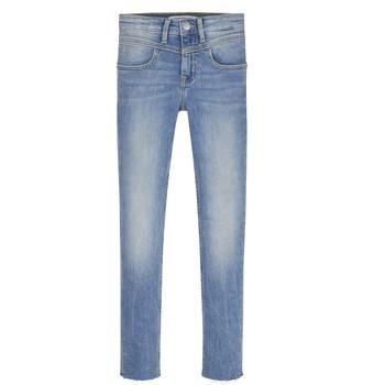 Vêtements Fille Jeans skinny Calvin Klein Jeans SOLILA Bleu