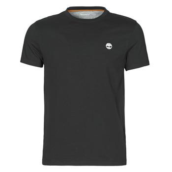 Vêtements Homme T-shirts manches courtes Timberland SS DUNSTAN RIVER POCKET TEE SLIM Noir