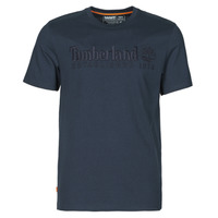 Vêtements Homme T-shirts manches courtes Timberland SS OUTDOOR HERITAGE LINEAR LOGO TEE REGULAR Marine