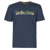Vêtements Homme T-shirts manches courtes Timberland SS KENNEBEC RIVER SEASONAL PATTERN LINEAR LOGO TEE Marine