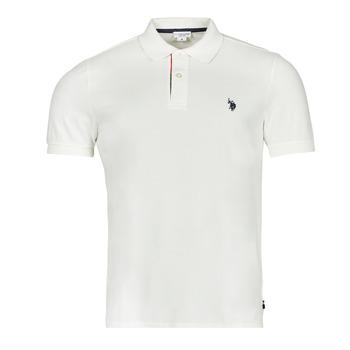 Vêtements Homme Polos manches courtes U.S Polo Assn. CURT POLO Blanc