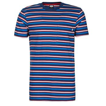 Vêtements Homme T-shirts manches courtes Urban Classics TB4136 Bleu / Rouge / Blanc