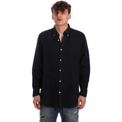 Vêtements Homme Chemises manches longues Navigare NV91108 Bleu