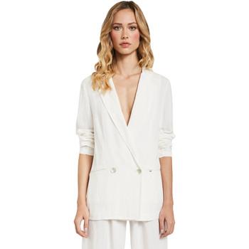 Vêtements Femme Vestes / Blazers Gaudi 011FD35012 Blanc